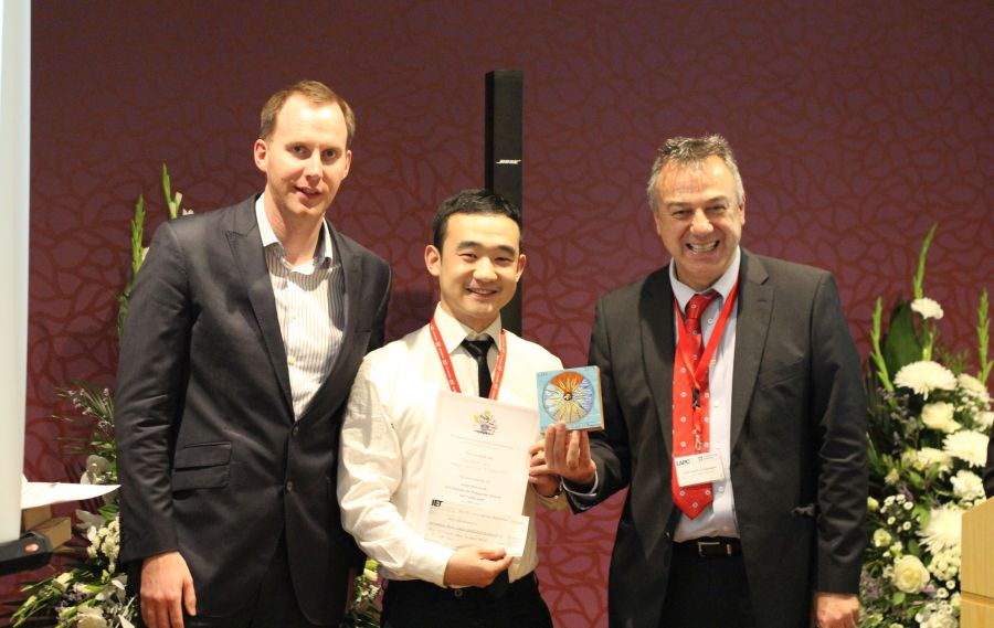IET Best Student Paper Award at the Loughborough Antennas & Propagation Conference 2015 for Kansheng Yang